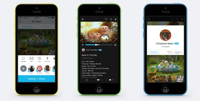 Vimeo agora pode importar vídeos já prontos (Foto: Divulgação/AppStore)