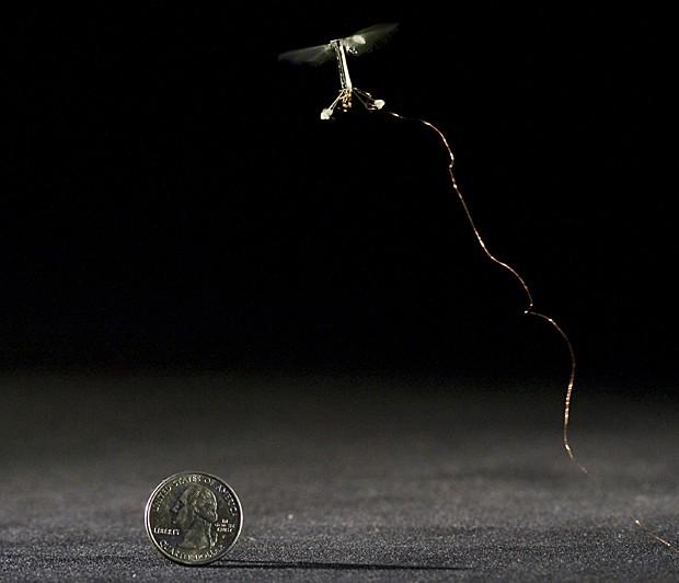 'Robô-inseto' é criado por cientistas de Harvard (Foto: Kevin Ma e Pakpong Chirarattananon/Harvard University)