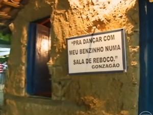 Sala de Reboco no Parque Aza Branca (Foto: Reprodução/TV Grande Rio)
