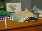 Suspeito de tráfico usa quarto dos filhos para guardar drogas, diz polícia