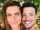 Mariana Goldfarb se derrete por Cauã Reymond: 'Orgulho danado dele'