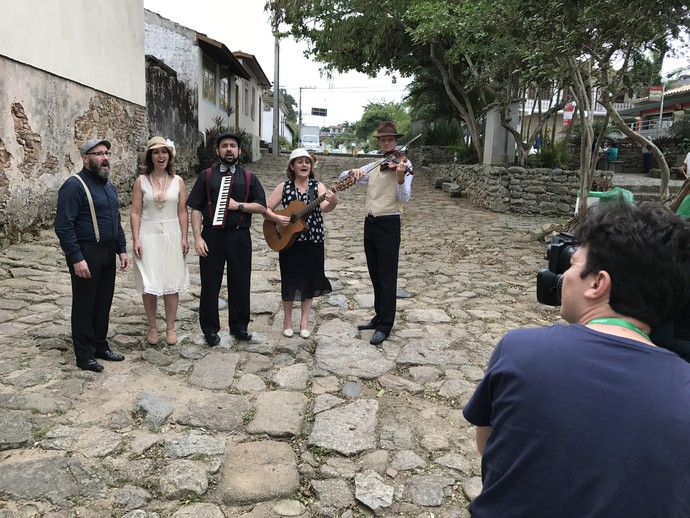 Mistura mostrou serenata por Santo Antônio de Lisboa  (Foto: RBS TV/Divulgação )