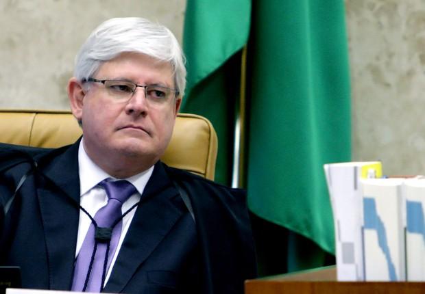 O procurador-geral da República Rodrigo Janot durante sessão plenária do STF (Foto: Fellipe Sampaio/SCO/STF)