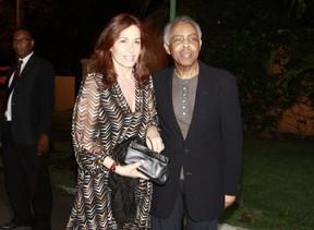 Flora e Gilberto Gil (Foto: Isac Luz/EGO)