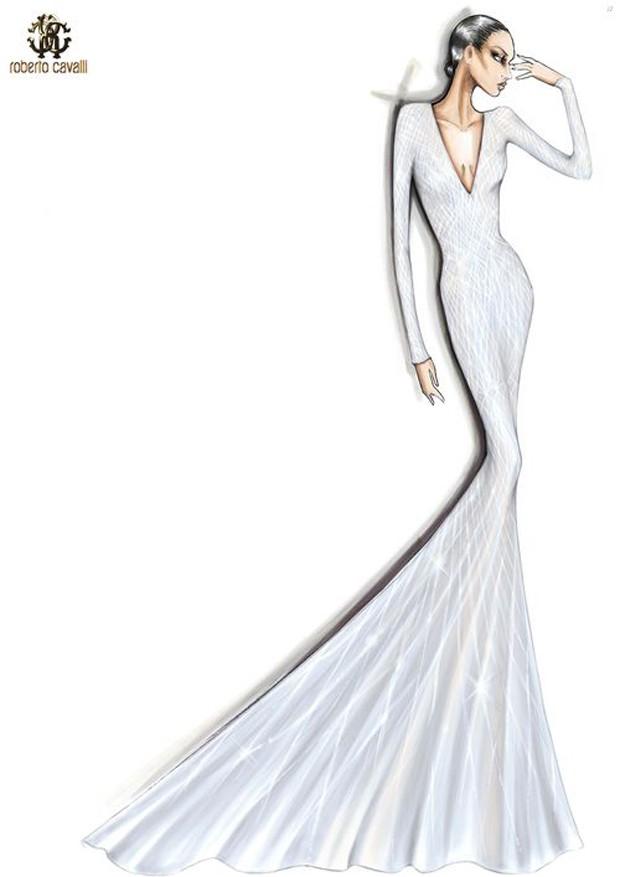 Lady Gaga usa vestido longo e decotado para noitada em ...