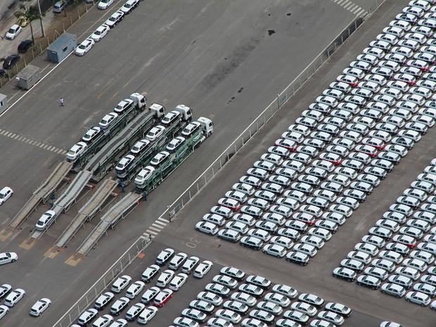 Exportação de veículo no Porto de Paranagua cresceu 142% (Foto:  André Kasczeszen/ ANPr/ Divulgação)