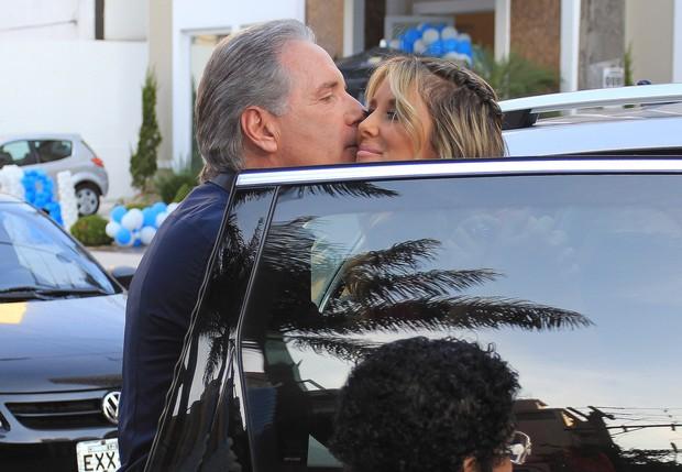 Aniversário Rafinha Justus - Roberto Justus e Ticiane Pinheiro (Foto: Celso Tavares/ EGO)