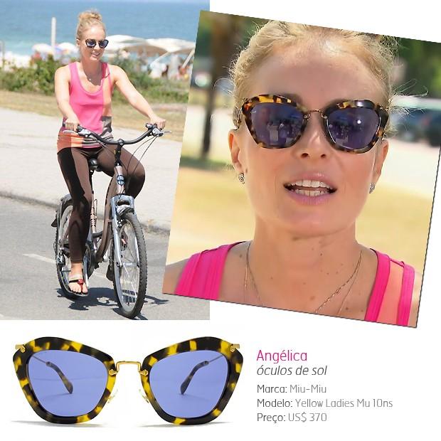 Os óculos escuros da apresentadora Angélica - Quem   QUEM Inspira 0c364838ff