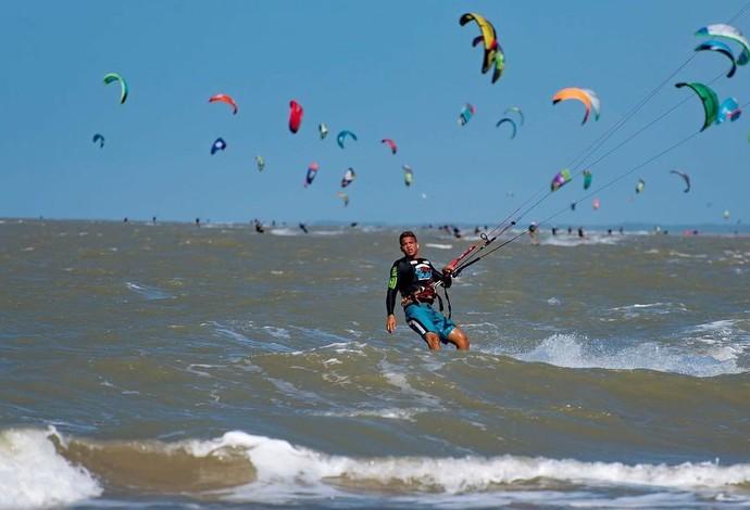 Fim de semana será de muito colorido com a 5ª edição do Campeonato Maranhense de Kitesurf (Foto: Divulgação)
