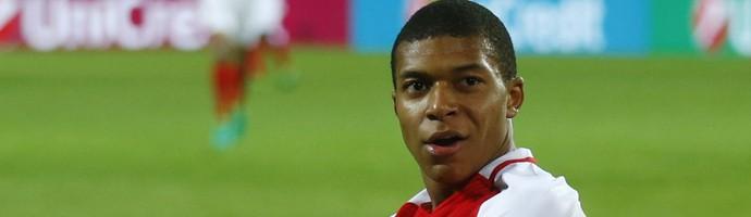 Mbappé Monaco Liga dos Campeões (Foto: Reuters)