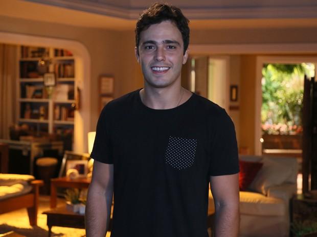 Thiago Rodrigues será o advogado Luís na nova novela das 6, Sete Vidas (Foto: Isabella Pinheiro/Gshow)