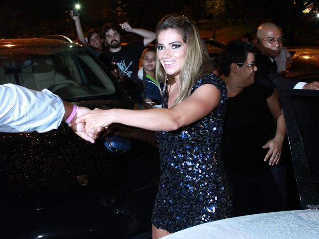 Ex-BBB Fani em festa pós-BBB no Rio (Foto: Raphael Mesquita e Clayton Militão/ Foto Rio News)