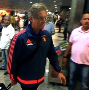 Oswaldo de Oliveira Sport (Foto: Lucas Liausu (GloboEsporte.com))