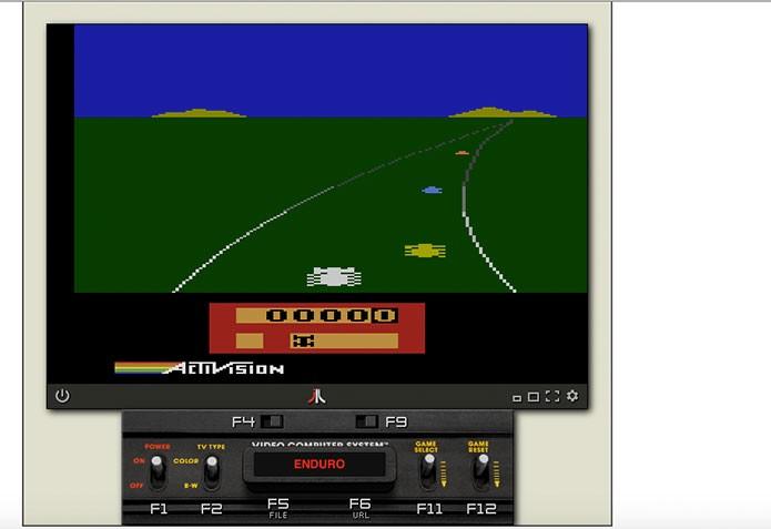 Em seguida é só jogar Atari no navegador (Foto: Reprodução/Felipe Vinha)