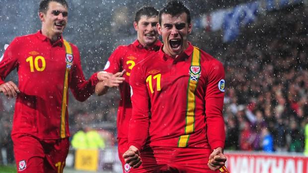 Gareth Bale País de Gales  x Escócia  (Foto: Getty Images)