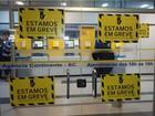 Greve dos bancários tem adesão no Vale do Itajaí, capital, Norte e Oeste