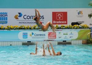 Brasil nado sincronizado evento-teste (Foto: João Gabriel Rodrigues )