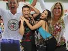 Anitta vai à coroação de David Brazil e Susana Vieira como reis de bateria
