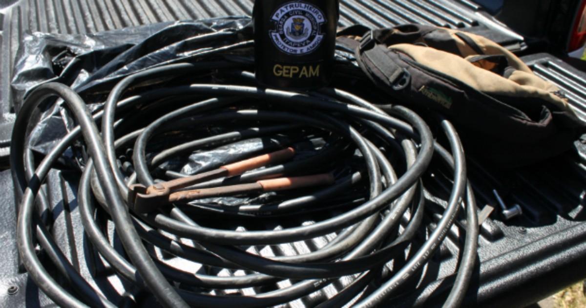 Homem é preso por furto de cabo telefônico em Itapeva, SP - Globo.com