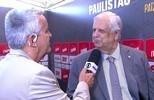 Presidente dos Santos comenta grupo do Paulistão 2018 e fala sobre futuro de Lucas Lima
