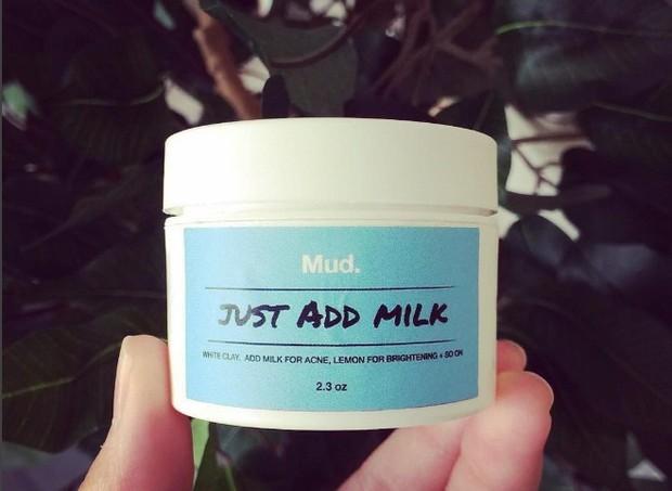 leite máscara (Foto: reprodução Instagram)