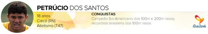 Headers_ATLETAS-PARALIMPICOS_Rio-2016_PETRUCIO-DOS-SANTOS (Foto: Infoesporte)