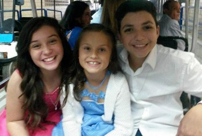 Rafa Gomes, Pérola Crepaldi, Wagner Barreto The Voice Kids (Foto: Arquivo pessoal)