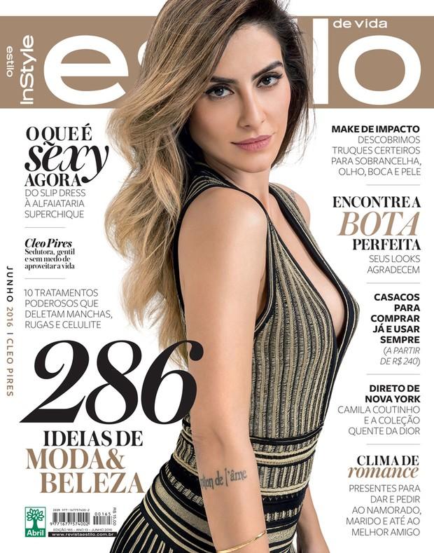 Cleo Pires (Foto: Revista Estilo / Divulgação )