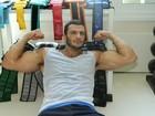 Kléber Bambam reforça malhação: 'Tenho 35 anos, não sou mais garoto'