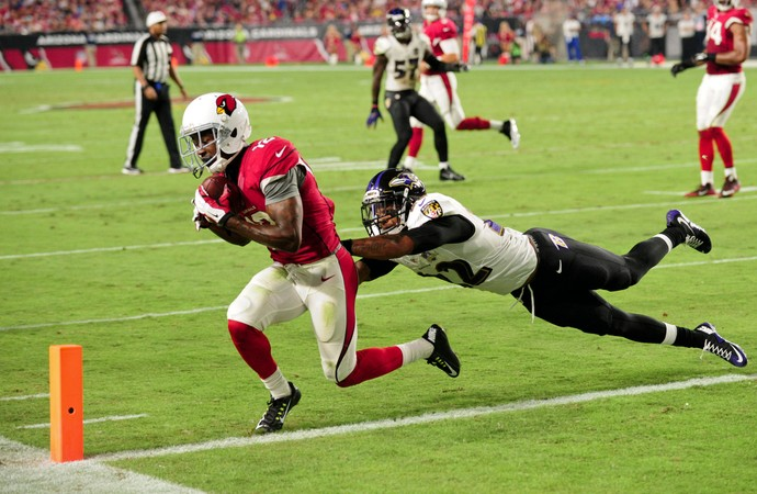 John Brown Cardinals x Ravens NFL (Foto: Reuters)