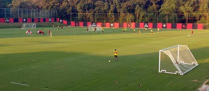 Vitória; treino; Toca do Leão; Cárdenas (Foto: Rafael Santana)