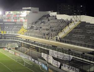 Vila Belmiro, Santos (Foto: Marcelo Hazan / Globoesporte.com)