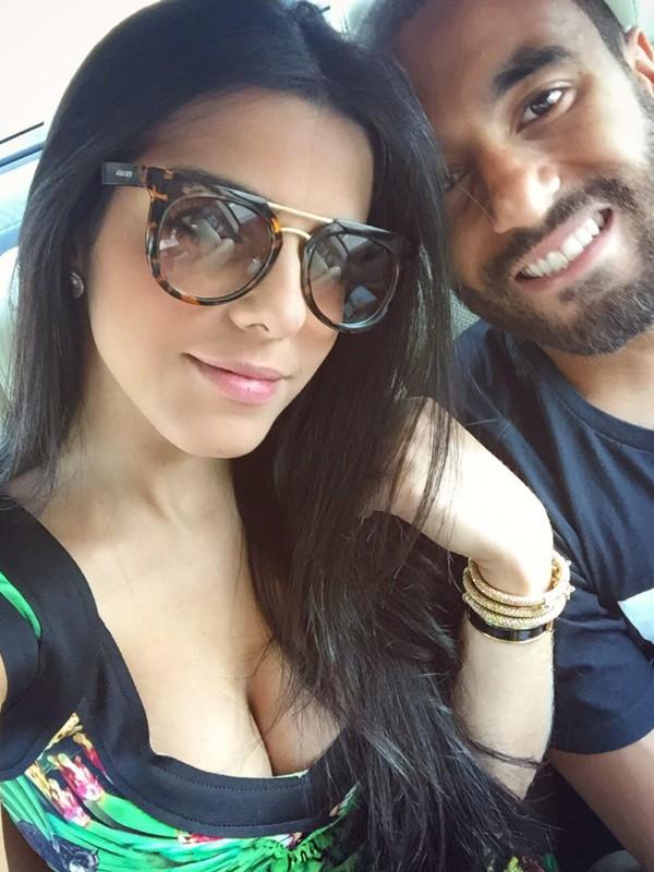 Lucas Moura e Larissa Saad (Foto: Arquivo Pessoal)