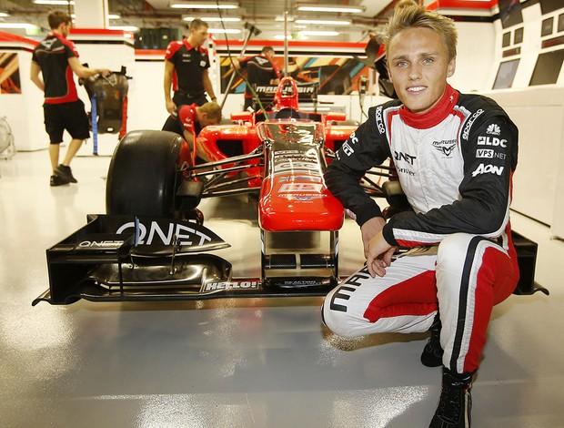 Reserva em 2012, Max Chilton estreará na Fórmula 1 pela Marussia em 2013 (Foto: Divulgação)