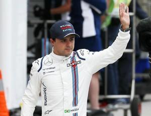 Felipe Massa treino oficial GP do Brasil de F1 (Foto: Reuters)