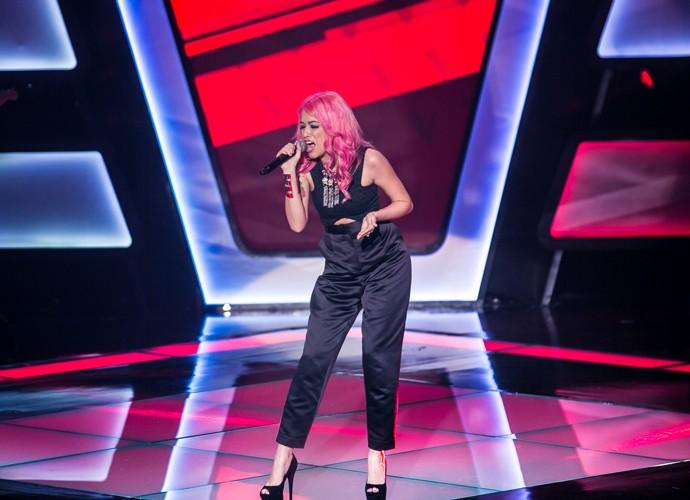 Nikki é a primeira a se apresentar no The Voice Brasil (Foto: Isabella Pinheiro/Gshow)