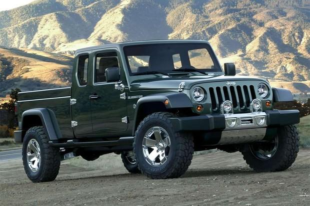 Jeep Gladiator Concept  (Foto: Jeep)