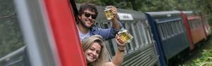 Todos a bordo do trem da cerveja (Marcelo Elias)