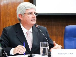 A subprocurador-geral da República Rodrigo Janot, durante debate com a classe em abril  (Foto: Divulgação/ANPR)