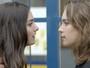 Luciana briga com Flávia e recebe apoio de Rodrigo