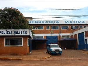 Presídio de Segurança Máxima de Campo Grande (Foto: Gabriela Pavão/ G1 MS)