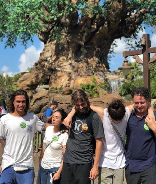 Rafa, Tata, Jhonny Massaro e Francisco  (Foto: Reprodução/Instagram)