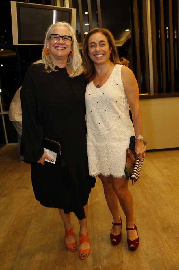 Vera Holtz e Cissa Guimarães no show de Maria Bethânia (Foto: Felipe Assumpção / AgNews)