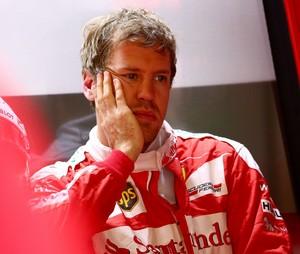 Sebastian Vettel neste sábado, na China (Foto: Getty Images)