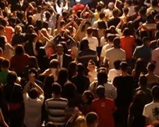 Funk Gospel reúne jovens para adorar a Deus (Foto: Reprodução Plugue)