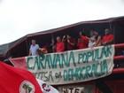 Lula participa de ato em Caruaru, PE