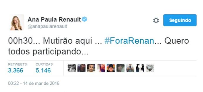 Ana Pauala Mutirão (Foto: Reprodução Internet )