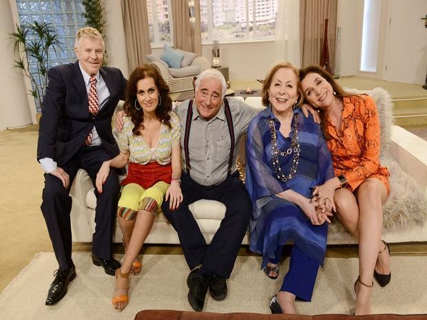 primeiro programa do especial gravado pelo canal em 2013. (Foto: Reproduo TV Globo)