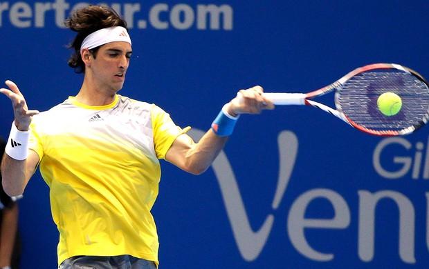 Thomaz Bellucci tênis contra Robredo desafio internacional (Foto: Marcello Zambrana / Inovafoto)