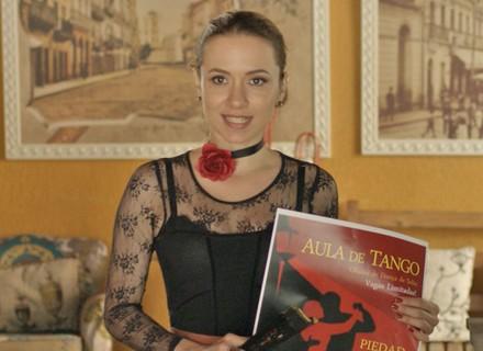 Uodson fica interessado por professora de tango